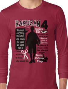 Akashi Seijurou Quotes Long Sleeve T-Shirt