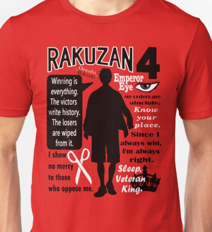 Akashi Seijurou Quotes Unisex T-Shirt