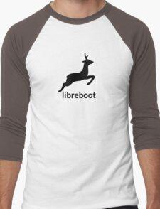 Libreboot Logo  Men's Baseball ¾ T-Shirt