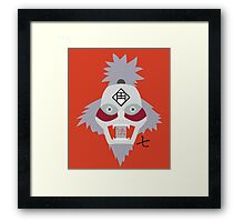 Chikamatsu's Collection of Ten Puppets - Naruto (Puppet 7) Framed Print