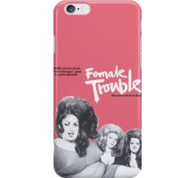 female trouble divine john waters iPhone Case/Skin