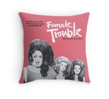 female trouble divine john waters Throw Pillow