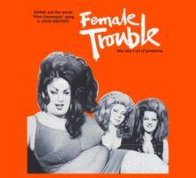 female trouble divine john waters Kids Tee