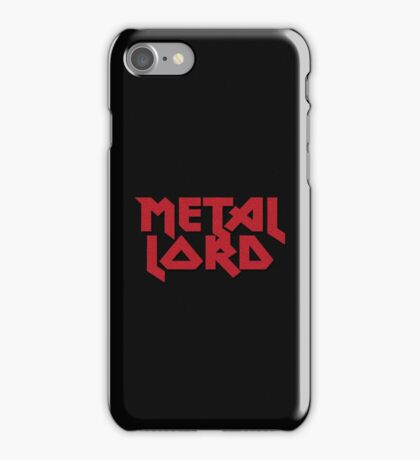 Heavy Metal Lord - Rock Music T-Shirt & Top iPhone Case/Skin
