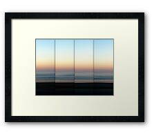 Mist Rolling In - Polyptych Framed Print