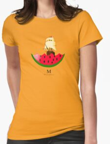 minimal Womens Fitted T-Shirt