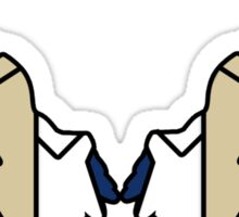 Castiel - Bold Angel Wings Sticker
