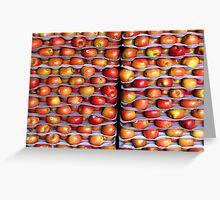 apple stack Greeting Card