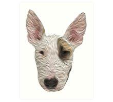 Bull Terrier II Art Print