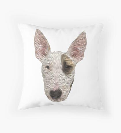 Bull Terrier II Throw Pillow