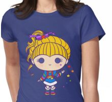 Funky Prism Girl Womens Fitted T-Shirt