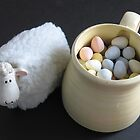 Lamb & Eggs by Judi FitzPatrick
