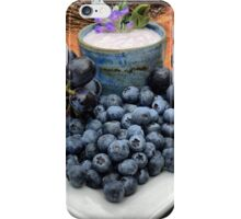 Eating The Blues iPhone Case/Skin