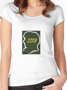 Welcome to 221B Women's Fitted Scoop T-Shirt