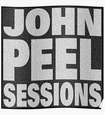 Peel Sessions Infographic Poster