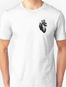 Cupiosexual/Cupioromantic Pride Heart (version 2 with black detail) T-Shirt