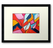 In a Quandry Framed Print