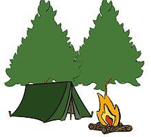 Camping by Sydney Aucreman