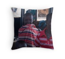 all in a day's work... Throw Pillow
