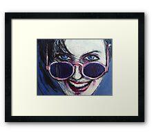 Summer - Portrait Of A Woman Framed Print