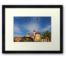 Up where they run Framed Print
