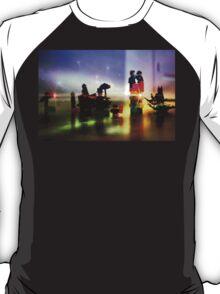 Batman and Robin Battle Penguin's Gang T-Shirt