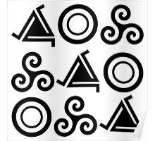 Symbols Poster