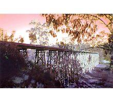 Stoney Creek Trestle Bridge Photographic Print