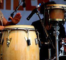 Drum Trio by Natalie Ord
