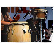 Drum Trio Poster