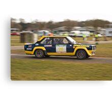 Fiat 131 Abarth Rallye Canvas Print