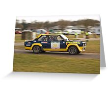 Fiat 131 Abarth Rallye Greeting Card