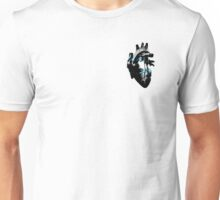 Demiboy Pride Heart (with black detail) Unisex T-Shirt