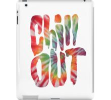 Chill Out - Tie Dye iPad Case/Skin