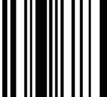 LIKE A BOSS bar code Sticker