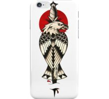 Traditional American eagle with a dagger iPhone Case/Skin