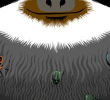 Sloth buggy Sticker