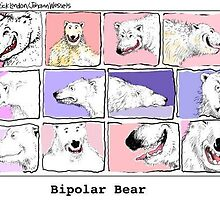 Bipolar Bear by Londons Times Cartoons by Rick  London