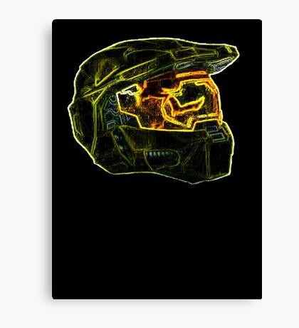 Neon Halo Canvas Print