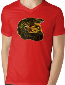 Neon Halo Mens V-Neck T-Shirt