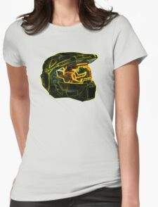 Neon Halo Womens Fitted T-Shirt