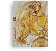 dj Qbert (work in progress - update 2 with qfo) Canvas Print