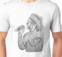 Harry singing Unisex T-Shirt