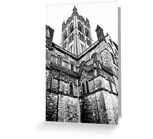 Buckfast Abbey Greeting Card