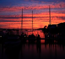 Starting of a new day by kathy s gillentine