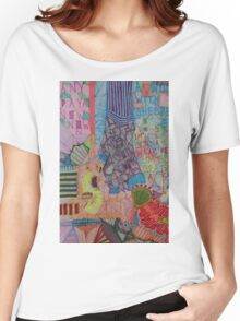 MIXED MESSAGE - LARGE FORMAT Women's Relaxed Fit T-Shirt