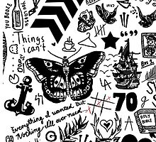 One Direction Tattoos Updated (2015) by eliannadraws