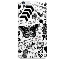 One Direction Tattoos Updated (2015) iPhone Case/Skin