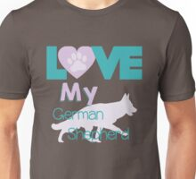Love my German Shepherd Unisex T-Shirt