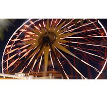 Fun Wheel Glow Photographic Print